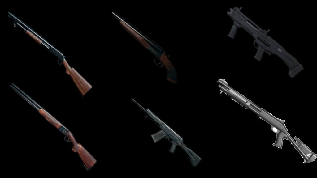 shotgun in pubg
