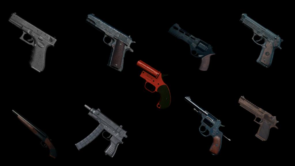 pistol in PUBG
