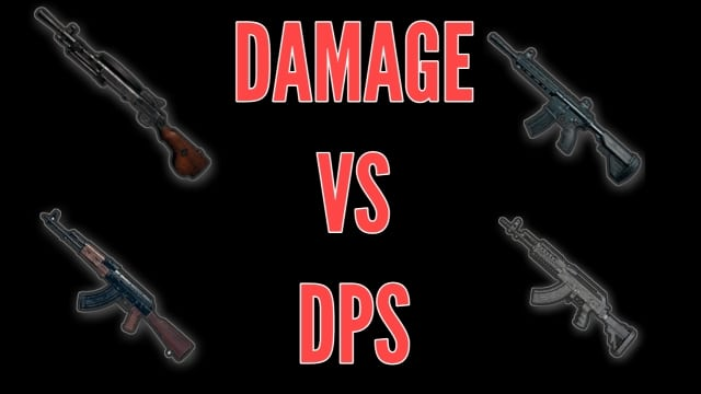 damage vs dps