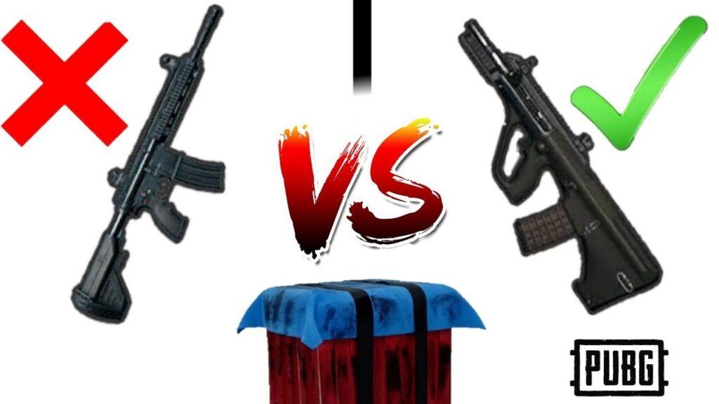 M416 vs AUG